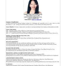 Sample Of Resume Cover Letter Teaching For Fresh Graduates Archives