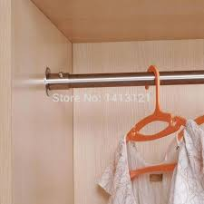 stainless steel closet rod free stainless steel pipe closet rod for hanging clothes furniture hardware