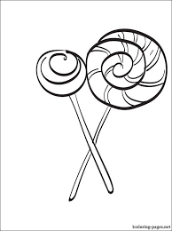 Small Picture Lollipop coloring page Coloring pages