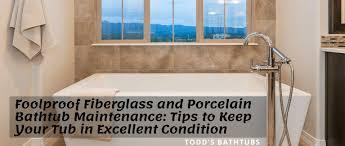 porcelain bathtub maintenance tips