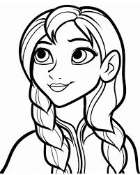Anna Coloring Pitchers Frozen Anna Coloring Page Diy Frozen