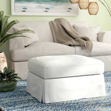 slipcovers for chair and ottoman cotton ottoman slipcover slipcovers chair ottoman