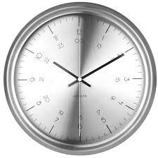 copper coloured wall clocks umbra concrete piatto wall clock grey kitchen home