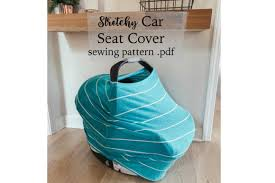 stretchy car seat cover sewing pattern