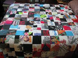 quilt made from old tshirts | Have To Try This | Pinterest | Shirt ... & quilt made from old tshirts Adamdwight.com