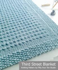 Very Easy Baby Blanket Knitting Pattern