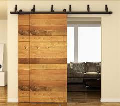 interior double door hardware. 10/12/13/15/16 FT Antique Country Farm Bypass Sliding Double Interior Door Hardware .