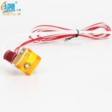 <b>MK10 Assembled Extruder Hot</b> End kit for CREALITY 3D Printer CR ...