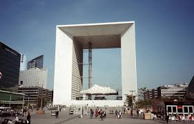 ultra modern architecture. Ultra Modern Architecture Of La Grande Arche De Défense, Paris, France | By I