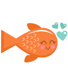 cute fish clip art. Perfect Art Fish Clipart Cute Valentine Svg Scrapbook Cut Inside Cute Clip Art H