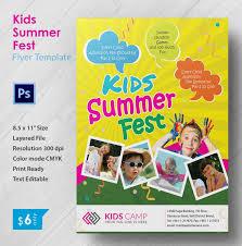 Free Templates For Kids Kid Friendly Flyer Templates Kids Brochure Template Boxedart Member
