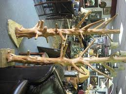 Rustic Coat Rack Tree