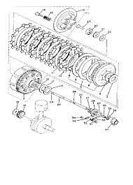 1980 yamaha xs650 xs650g clutch parts best oem clutch parts rh bikebandit 1979 yamaha xs650