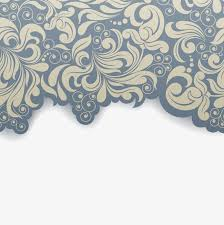 Elegant Retro Pattern Background Flowers Pattern Pattern Png And