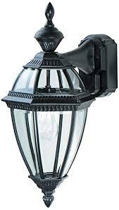 heritage black 21 dusk to dawn motion sensor outdoor light