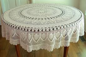 90 inch round tablecloths s cotton white x 156