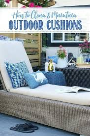 cleaning patio cushions save cleaning outdoor cushions with power washer
