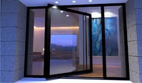 image of full glass entry door hardware