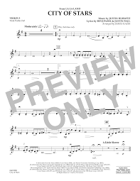 city of stars violin sheet music city of stars from la la land
