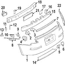 parts com® nissan bumper cover partnumber hem22cf41h 2004 nissan 350z track v6 3 5 liter gas bumper components