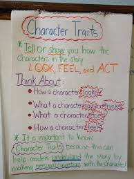 Character Traits Anchor Chart Character Traits Lessons Tes Teach