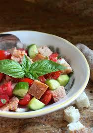 Panzanella Traditional Italian Bread And Tomato Salad Christinas