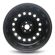 Road Ready Car Wheel For 2009 2019 Toyota Corolla 16 Inch 5 Lug Black Steel Rim Fits R16 Tire Exact Oem Replacement Full Size Spare