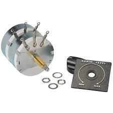 parts express speaker l pad attenuator 100w stereo 1 shaft 8 ohm 260 264 alt 1 jpg