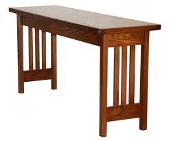 Craftsman Style Coffee Table Sofa Fascinating Mission Style Sofa Table Plans Mission Style