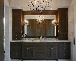bathroom cabinets tampa. inspiration for a timeless bathroom remodel in tampa with dark wood cabinets l