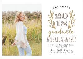 Graduation Announcements For High School 2019 Graduation Announcements Invitations For High School And College