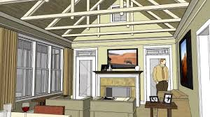 cottage home design with open floor plan and vaulted ceiling hudson cottage you
