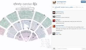 The Comcast Center Seating Chart Allegiant Airlines Seat Online Charts Collection