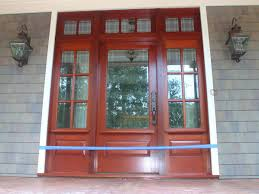 wood entry doors with sidelights