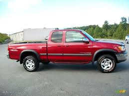 2000 Sunfire Red Pearl Toyota Tundra SR5 Extended Cab 4x4 ...