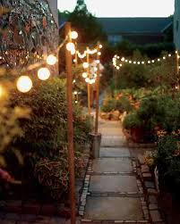 Lighting: Stump Backyard Lighting Designs - Backyard Lights