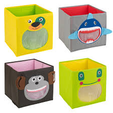 Kids Toy Storage Kids Toy Storage Box Non Woven Fabric Collapsible Container