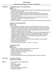 Anesthesiologist Resume Simple Anesthesiologist Resume Samples Velvet Jobs Hospital Cfo Examples S