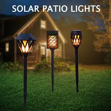 decorative solar outdoor lights