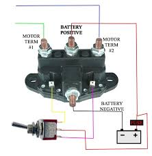 volt reversing relay related keywords suggestions volt winch motor reversing solenoid contactor relay 6 term