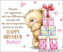 Quotes For Sister Birthday Inspiration Birthday Messages For Sister Birthday Wishes For Sister Dgreetings