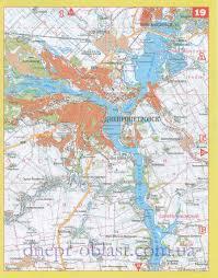 Карта Днепропетровска Карта окрестностей Днепропетровска Карта  Карта Днепропетровска Карта центра города