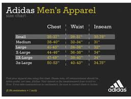 Adidas Y3 Size Chart Adidas Originals T Shirt Size Chart Coolmine Community School