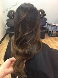 Brown Warm Caramel Honey Chocolate Balayage