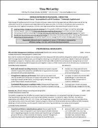 Mba Hr Resume Samples Forperienced Sample Objective Format Doc