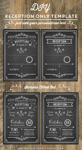 best 25 reception only invitations ideas on pinterest reception Wedding Reception Only Invitations chalkboard diy reception only invitation wedding reception only invitations wording