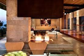 Open Stone Fireplace Living Room Special Modern Living Room Open Fireplace Wood Stone
