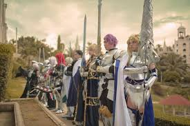 knights of the round table jeremia escueta mia bedivere johat mash kyrielight cosplay photo