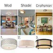 modern flush mount ceiling lights