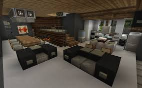 Minecraft Modern Kitchen Minecraft Interior I Really Like The Raised Area With The